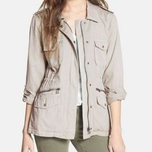 Velvet + Lily Aldridge Ruby Military Style Jacket